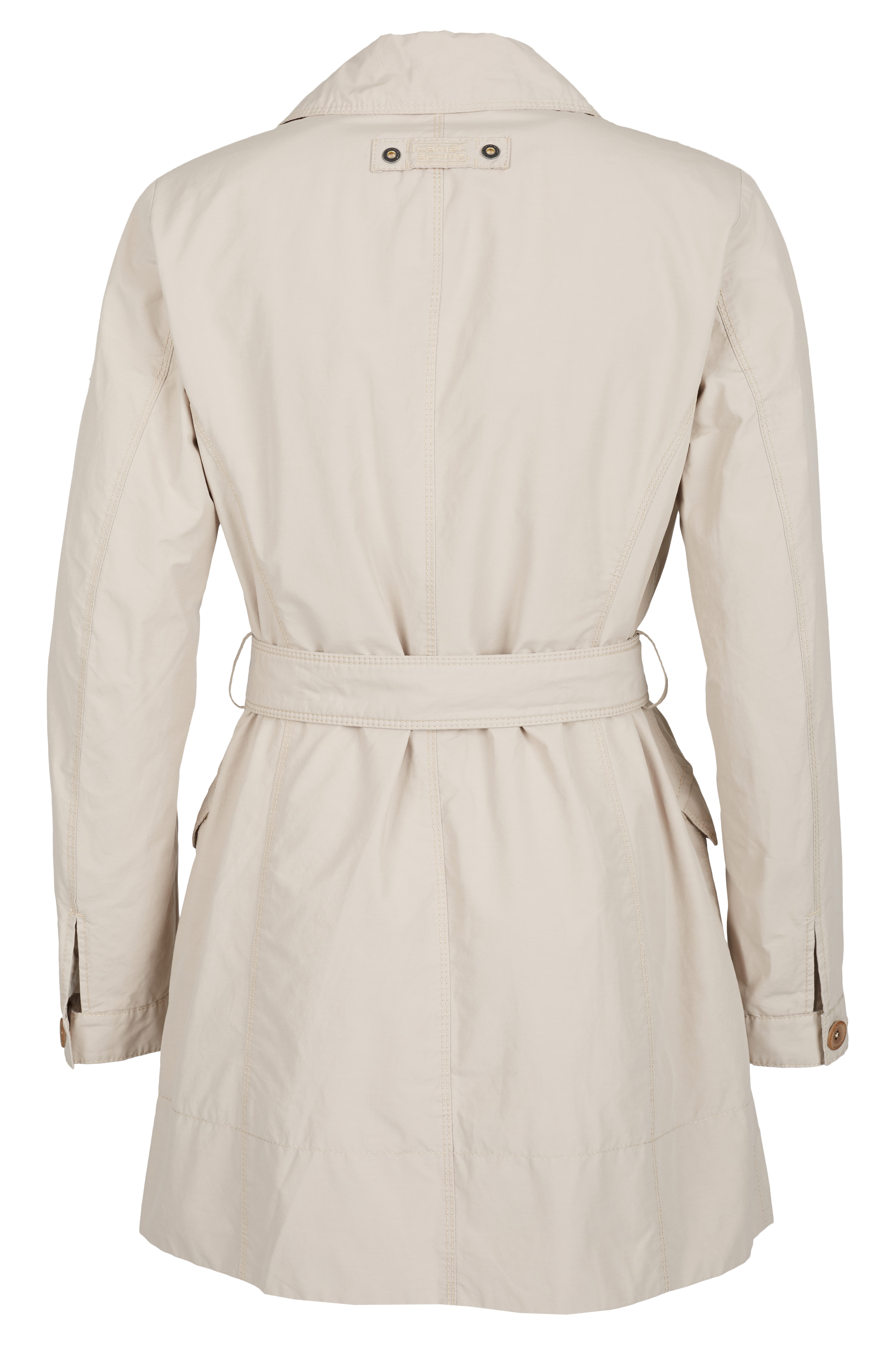 camel active damen trenchcoat damenmantel neu beige ebay. Black Bedroom Furniture Sets. Home Design Ideas