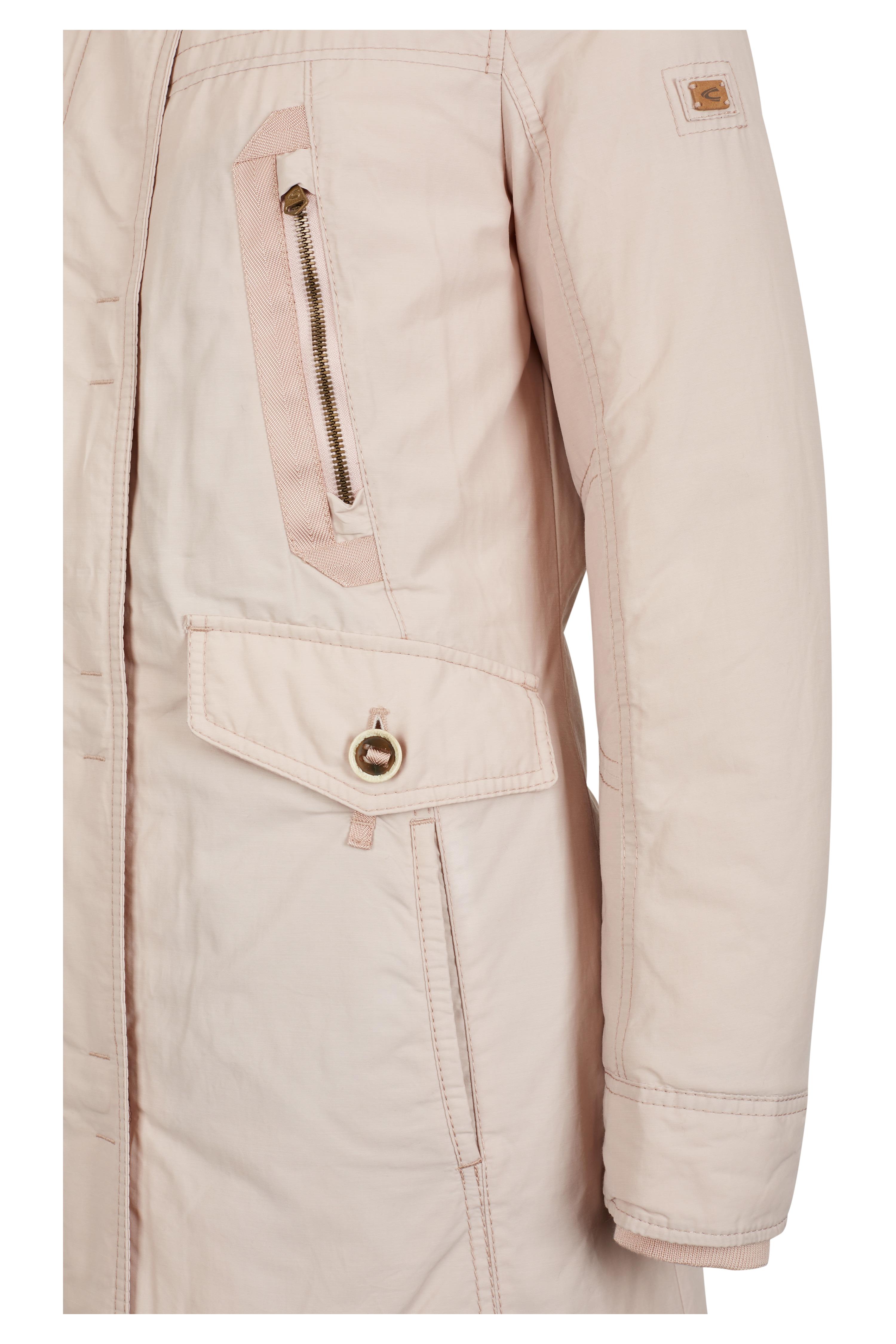 camel active damen mantel mit abnehmbarer kapuze blau khaki beige wei neu ebay. Black Bedroom Furniture Sets. Home Design Ideas