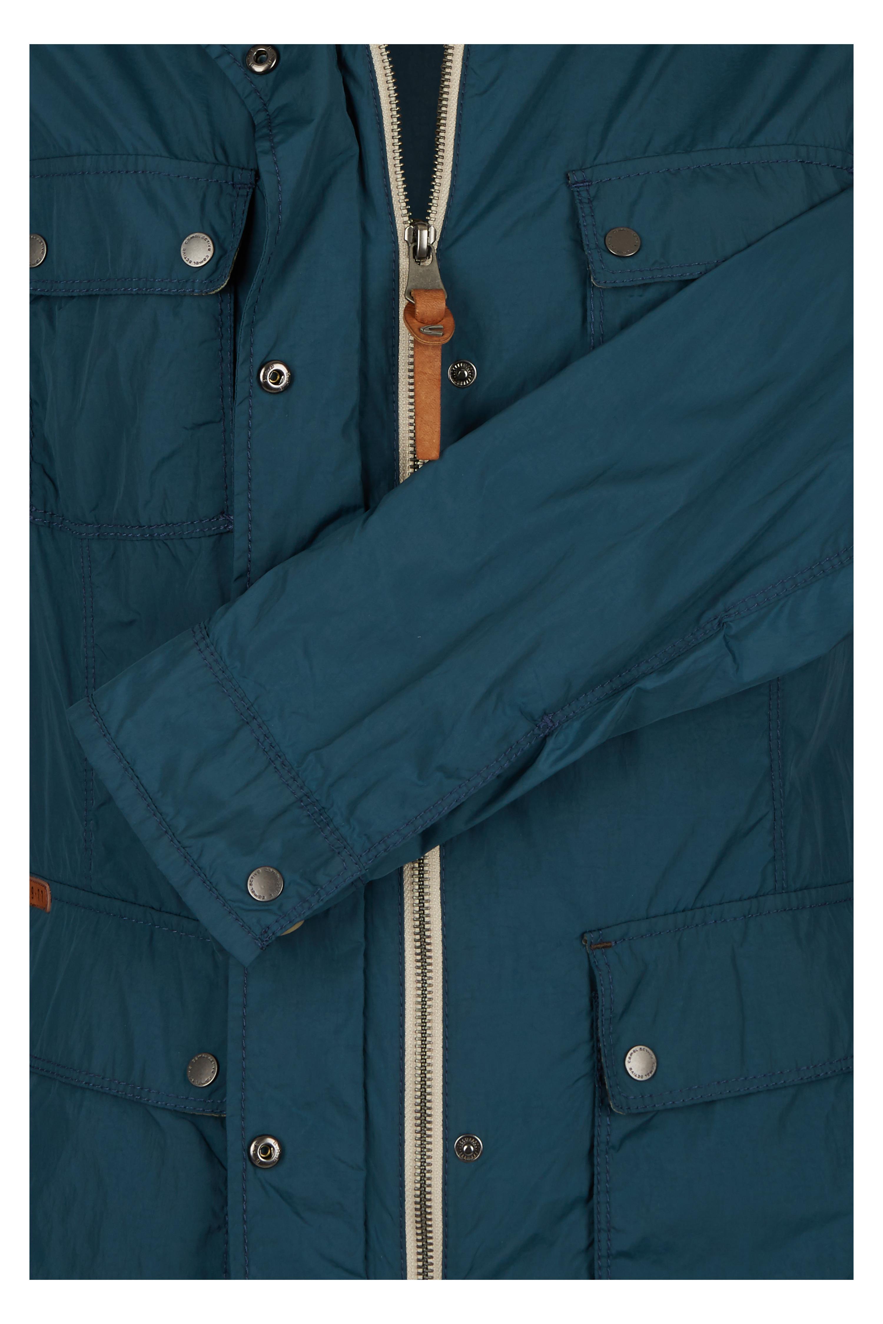 camel active damen jacke in garment washed optik neu blau ebay. Black Bedroom Furniture Sets. Home Design Ideas