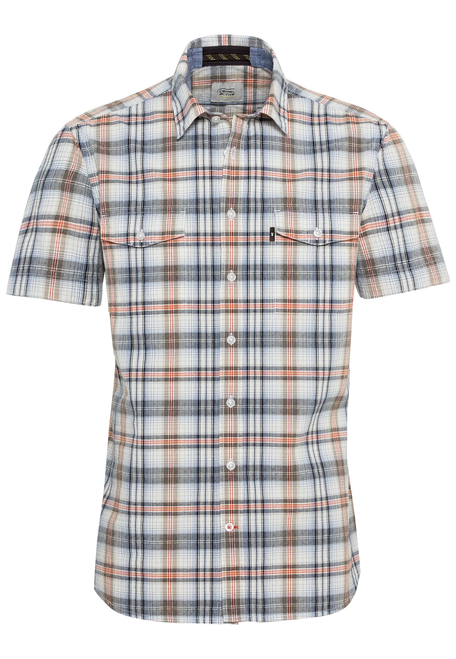 Κοντό μανίκι πουκάμισο Kent Stripes